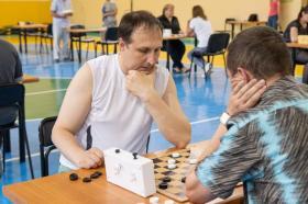 Физкультурное мероприятие по русским шашкам